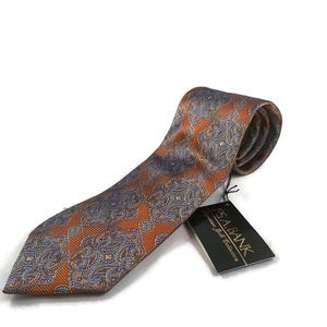 Jos A Bank signature gold collection tie